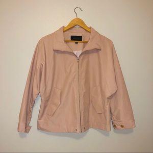 pale pink banana republic jacket